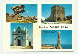 SALUTI DA CAPOCOLONNA -   VIAGGIATA FG - Cosenza