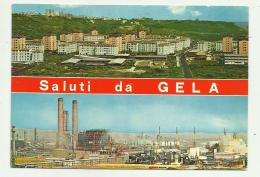 SALUTI DA GELA - VIAGGIATA FG - Caltanissetta