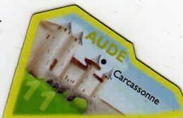 Magnets Magnet Le Gaulois Departement Tourisme France 11 Aude - Tourism