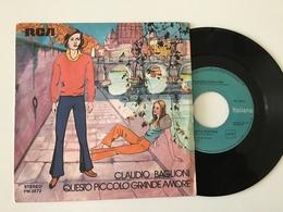 Rox Disco Vinile Claudio Baglioni Questo Piccolo Grande Uomo - Disco, Pop