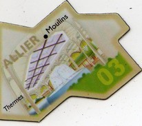 Magnets Magnet Le Gaulois Departement Tourisme France 03 Allier - Tourism
