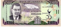 Jamaica P.90    100 Dollars 2012 Unc - Jamaica