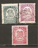 España/Spain-(usado) - Edifil  748-50 - Yvert 615-17 (o) - 1931-Hoy: 2ª República - ... Juan Carlos I