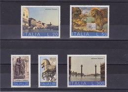 ITALIE 1973 VENISE Yvert 1125 + 1133-1136 NEUF** MNH - 1946-.. République