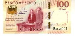 Mexico P.130 100 Pesos 2016  Unc - Messico