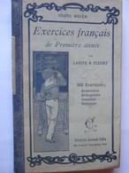 Livre - EXERCICES FRANCAIS De Première Année De 1934 - Par LARIVE & FLEURY - Cours Moyen - 134 Pages - 15 Photos - Old Paper