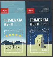 Islande - Europa 2009 - Astronomie - Yvert C1171 Et C1172 ** MNH - Carnets