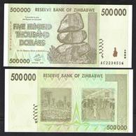 ЗИМБАБВЕ 500000 $  2008  UNC! - Zimbabwe