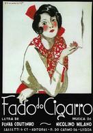 Publicité Portugaise Fado Do Cigarro (2 Scans) - Publicité
