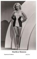 MARILYN MONROE - Film Star Pin Up PHOTO POSTCARD - 201-714 Swiftsure Postcard - Postales