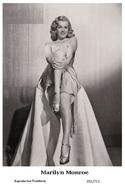 MARILYN MONROE - Film Star Pin Up PHOTO POSTCARD - 201-711 Swiftsure Postcard - Postales