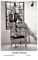 MARILYN MONROE - Film Star Pin Up PHOTO POSTCARD - 201-709 Swiftsure Postcard - Postales