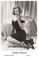 MARILYN MONROE - Film Star Pin Up PHOTO POSTCARD - 201-710 Swiftsure Postcard - Postales