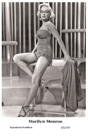MARILYN MONROE - Film Star Pin Up PHOTO POSTCARD - 201-707 Swiftsure Postcard - Postales