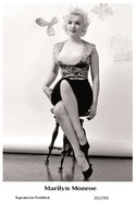 MARILYN MONROE - Film Star Pin Up PHOTO POSTCARD - 201-703 Swiftsure Postcard - Postales