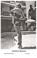 MARILYN MONROE - Film Star Pin Up PHOTO POSTCARD - 201-701 Swiftsure Postcard - Postales