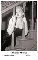 MARILYN MONROE - Film Star Pin Up PHOTO POSTCARD - 201-695 Swiftsure Postcard - Postales