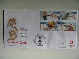 Enveloppe Officielle FDC CIO - Official Cover Jeux Olympiques Pekin - Beijing 2008 - Ete 2008: Pékin