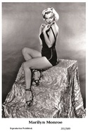 MARILYN MONROE - Film Star Pin Up PHOTO POSTCARD - 201-689 Swiftsure Postcard - Postales