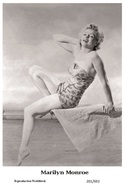 MARILYN MONROE - Film Star Pin Up PHOTO POSTCARD - 201-692 Swiftsure Postcard - Postales