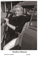 MARILYN MONROE - Film Star Pin Up PHOTO POSTCARD - 201-685 Swiftsure Postcard - Postales