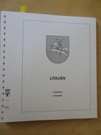 Litauen Lindner T Falzlos 1990-1991 (4417) - Alben & Binder