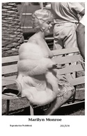 MARILYN MONROE - Film Star Pin Up PHOTO POSTCARD - 201-674 Swiftsure Postcard - Postales
