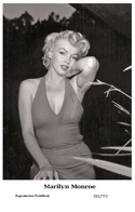 MARILYN MONROE - Film Star Pin Up PHOTO POSTCARD - 201-771 Swiftsure Postcard - Postales