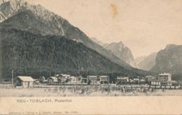 Italy - Neu Toblach - Pusterthal - Italien