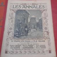 Les Annales N° 1646 16 Janvier 1915 WW1 Le Journal De La Guerre,Histoire Alsace Lorraine - 1900 - 1949