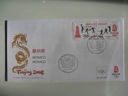 Enveloppe FDC Officielle CIO - Official Cover Jeux Olympiques Pekin - Beijing 2008 - Ete 2008: Pékin