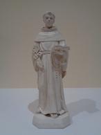 Modelo De Taller De San Antonio De Padua (sosteniendo Un Libro). Olot, España. - Sculptures