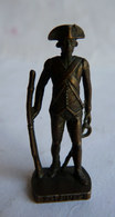 FIGURINE KINDER  METAL SOLDAT FRANCAIS FR 1780 GRENADIER 3 80's Bruni - KRIEGER FRENCH - Metal Figurines
