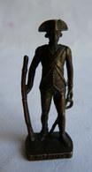 FIGURINE KINDER  SCAME METAL SOLDAT FRANCAIS FR 1780 GRENADIER 3 80's Bruni - KRIEGER FRENCH - Metal Figurines