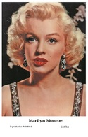 MARILYN MONROE - Film Star Pin Up PHOTO POSTCARD - C33-11 Swiftsure Postcard - Postales