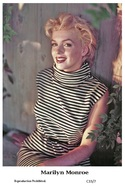 MARILYN MONROE - Film Star Pin Up PHOTO POSTCARD - C33-7 Swiftsure Postcard - Postales