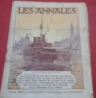 Les Annales N° 1668 13 Juin 1915 Journal De La Guerre Galipoli Sedil Bahr, Venise Port Militaire - 1900 - 1949