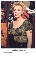 MARILYN MONROE - Film Star Pin Up PHOTO POSTCARD - C33-5 Swiftsure Postcard - Postales