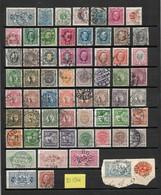 Sweden/Zweden/Sverige Old Collection,type?? Used/gebruikt/oblitere(D-134) - Verzamelingen (zonder Album)