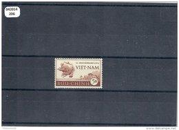 VIETNAM 1952 - YT N° 19 NEUF SANS CHARNIERE ** (MNH) GOMME D'ORIGINE LUXE - Viêt-Nam
