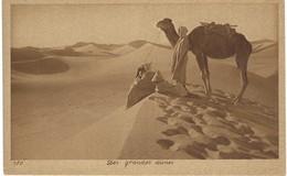 Les Grandes Dunes - Bédouins, Chameau - Dromadaire - Cartoline