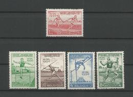 Belgium 1950 Sports OCB 827/831 ** - Belgium