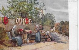 AK 0040  Graz - St. Leonhard / Künstlerkarte Von M. Trauner Um 1914 - Graz