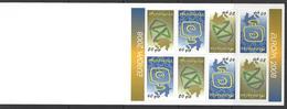 Azerbaïdjan / Azerbaycan - 2008 - Europa  - BF76 (611/612) L'écriture D'une Lettre ** MNH - Aserbaidschan