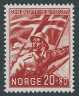 NORWEGEN 236 **, 1941, 20 Ø Norske Legion, Postfrisch, Pracht, Mi. 80.- - Zonder Classificatie