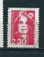 N° 2614  Marianne Du Bicentenaire 2.30 Rouge  Timbre  France Oblitéré 1989 Tour Eiffel Sur Le Nez - Curiosidades: 1980-89 Usados