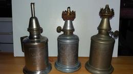 Lot De 3 Lampes Pigeon Feutrée, Flamboyant Et Garantie Veritable - Luminaires
