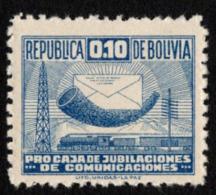 Bolivia - Scott #RA4 MH - Bolivie