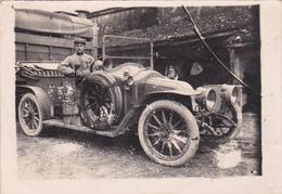 Photographie Originale N & B  9 X13 Voiture Véhicule Automobile Tacot A Identifier - Voitures De Tourisme