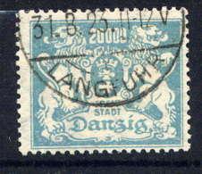 DANTZIG  - 115° - ARMOIRIES - Dantzig